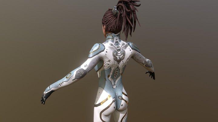 Sarah Kerrigan - StarCraft 3D Model