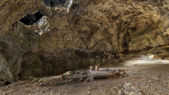 cave | Höhle Brillenhöhle 3D Model