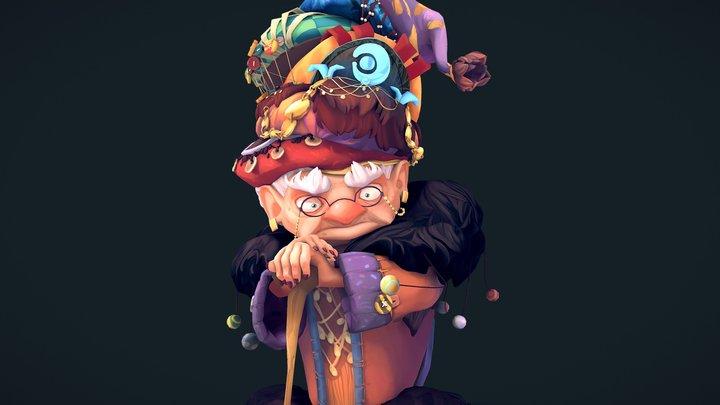 Granny 3D Model