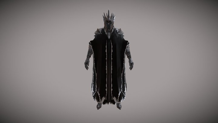 Witch King 3D Model