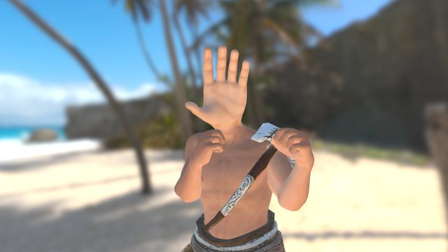 Hand to Hand Combat 3D Model