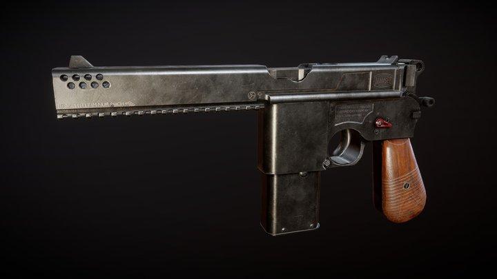 Mauser C2096 3D Model