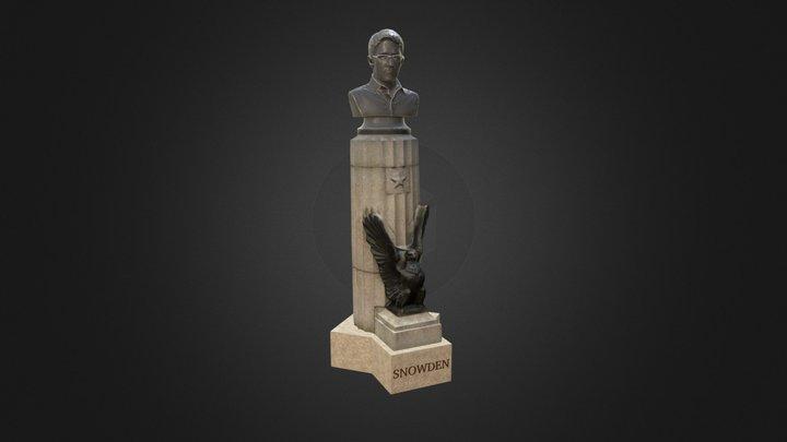 Edward Snowden At Fort Greene Park 3D Model
