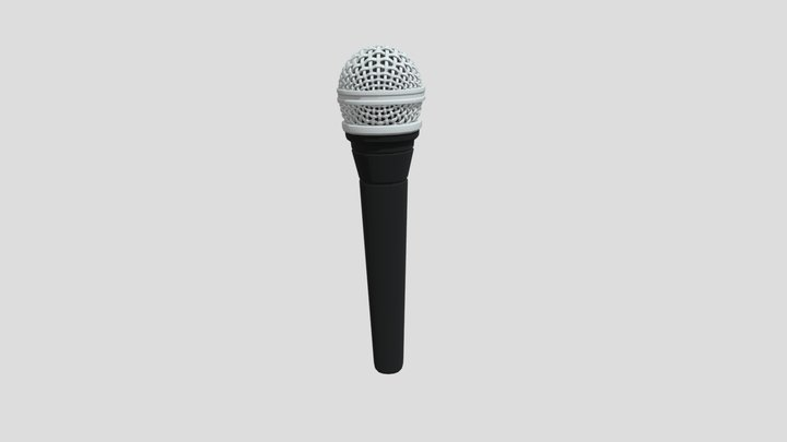 Microphone Two 3D Model