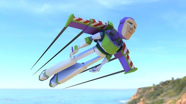 Buzz Lightyear : Buzzing 3D Model