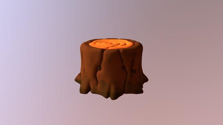 Log Sculpt 3D Model