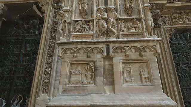 Fragment of Milan Cathedral 3D Model