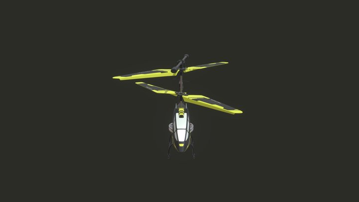 Drone Aviator Helicopter 3D Model