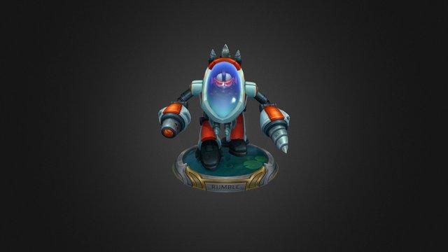 Super Galaxy Rumble 3D Model