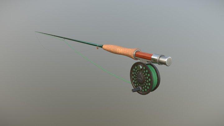 Dry Fly Hour 3D Model