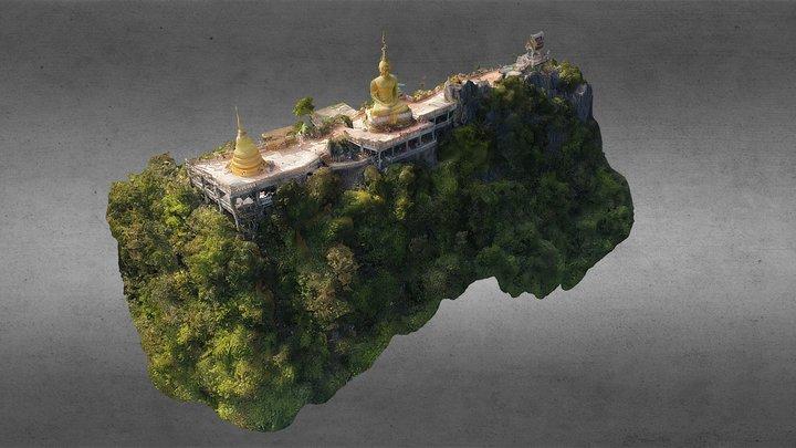 Top of Wat Tham Suea (Tiger Cave Temple) 3D Model