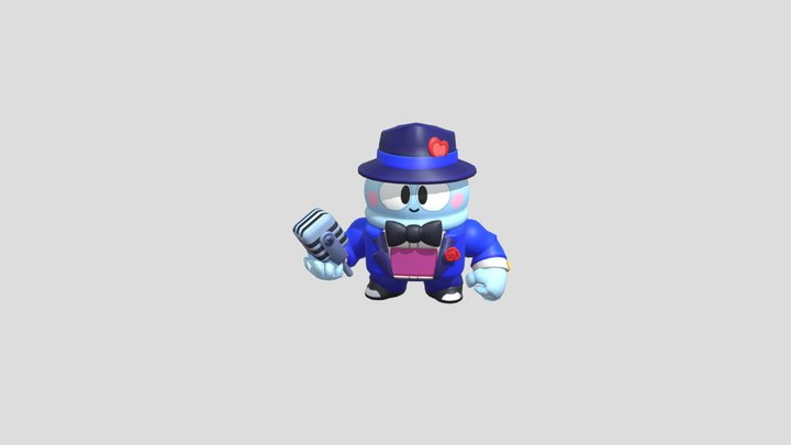 Smooth Lou WITH WIN ANIMATION! 3D Model