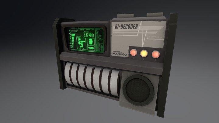 Bi-Decoder 3D Model