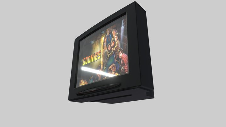 Grandma's TV 3D Model
