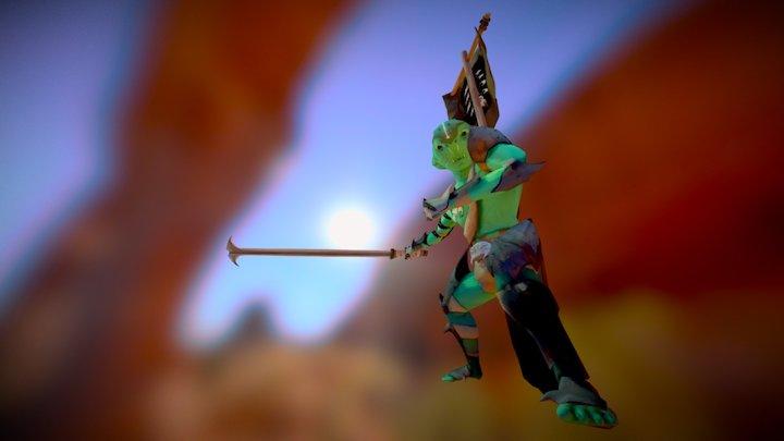 Goblin Warchief 3D Model