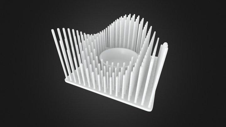 Printable Tealight 3D Model