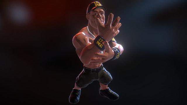 John Cena 3D Model
