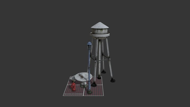 1DAE22 Rio Derham 3D Model