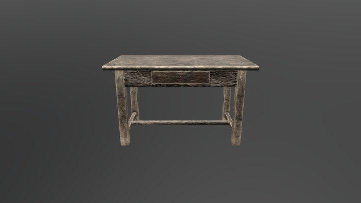 Desk V1 ready to game 3D Model