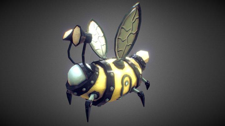 Bee Ship 3D Model