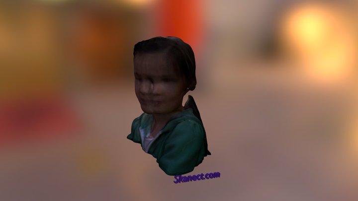 LetsBuildRobots - Mutant Flo Head 3D Model