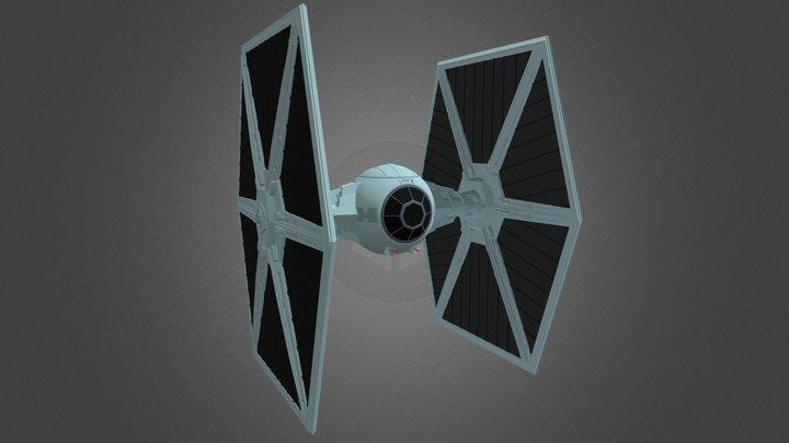 TIE Fighter (Star Wars) 3D Model
