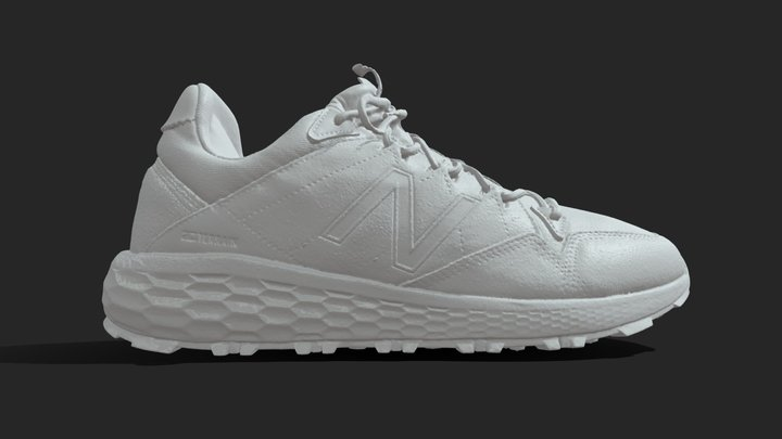 New Balance - No Texture - Artec Space Spider 3D Model