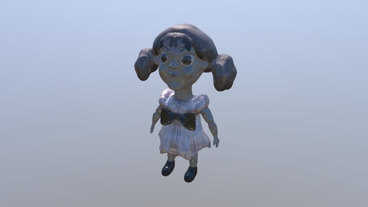 Talking Tina Doll - Twilight Zone 3D Model