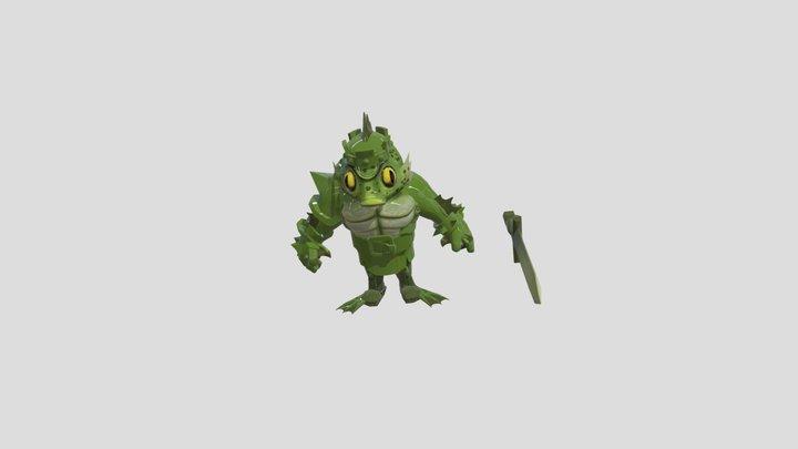 Fish King Clash of Clans idea 3D Model