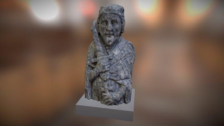 Busto de Alfonso Henriques 3D Model