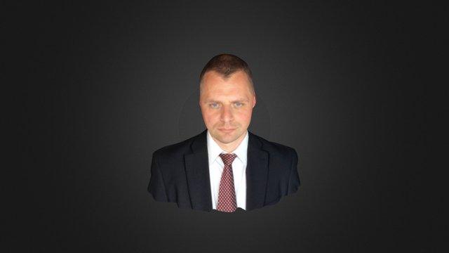 Krzysztof 3D Model