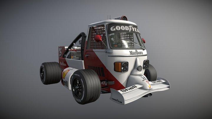 Formula TUK-TUK 3D Model
