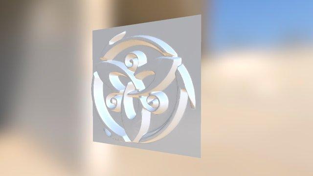 Ornamental Plate 002 3D Model