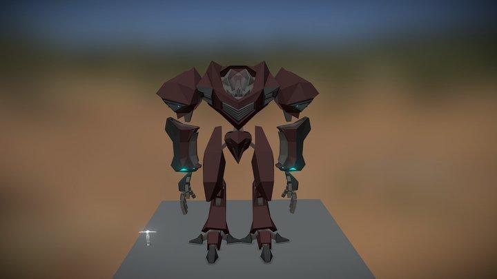The Robot 3D Model