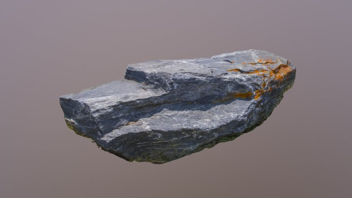 Jakey's Fork Rock 01 3D Model