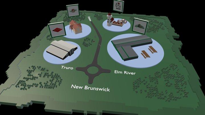 Masstown Map7 3D Model