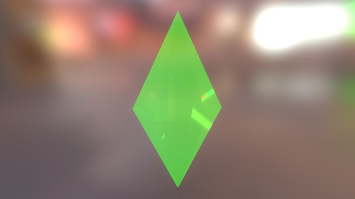 [Updated] The Sims - Plumbob 3D Model