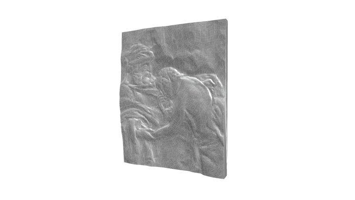 Regret 01 Relief Sculpture Scan 3D Model