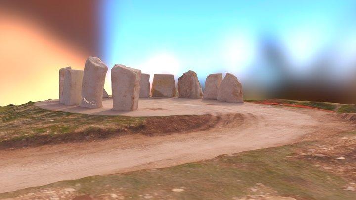 Memory Stones Tout Quarry, Portland 3D Model