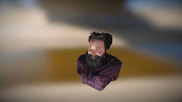 Isaac Bust 3D Model