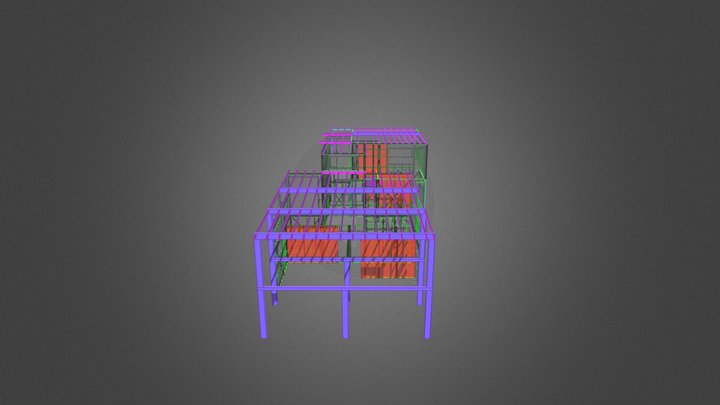 8374F 3D Model