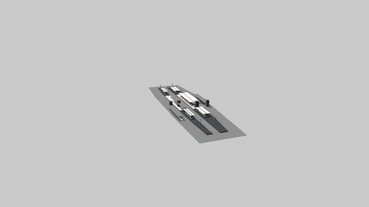 Graceville - R18 - Site Overall Mtl Res 3D Model