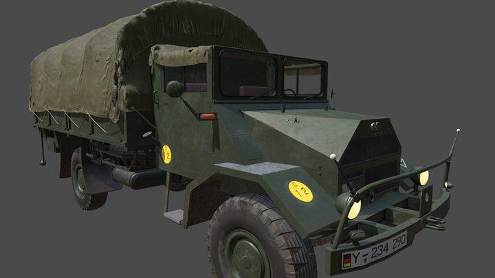 Ford D G398 (NATO Ziege) 3D Model