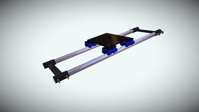 Riel de camara animacion 3D Model