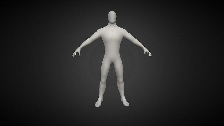 Downloadable Male Bash Mesh 3D Model