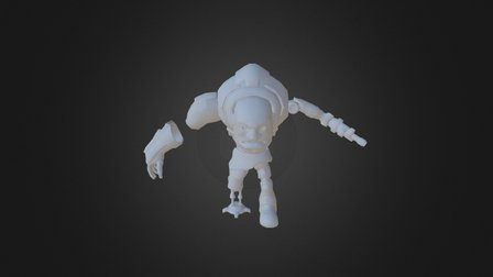 Sci Fi character 3D Model