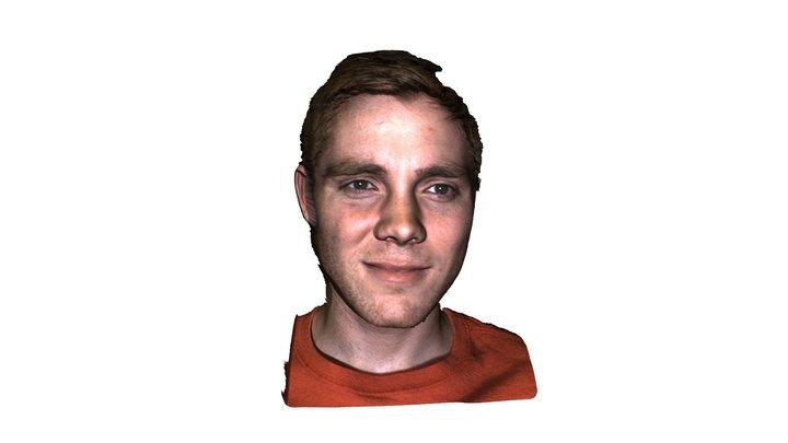 Tyler's Face 3D Model