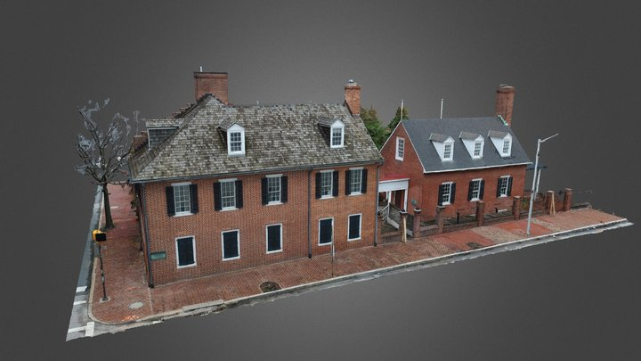 Star Spangled Banner House - Photogrammetry 3D Model