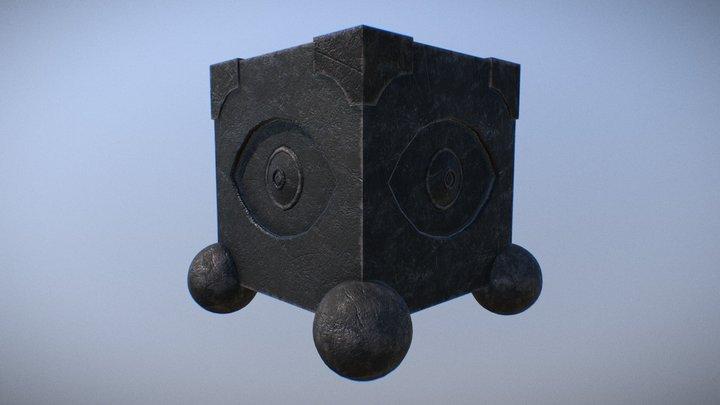 Original Piece - Mobile Prison of the Eye 3D Model