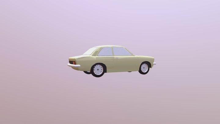Chevrolet Chevette 1974 3D Model
